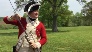 Monmouth United Kingdom  city pictures gallery : British Army musket demonstration at Monmouth Battlefield 2016