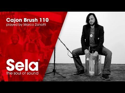 Sela Cajon Brush 110 played by Marco Zanotti