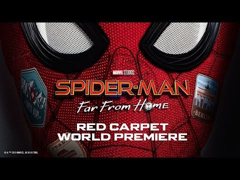 Spider-Man: Far From Home Red Carpet | FULL STREAM