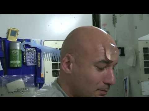 How to Wash Your Bald Head in Space