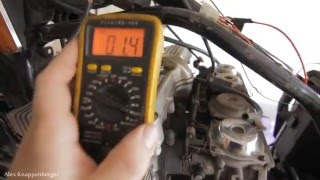 2. How to test Ignition Coils on Motorcycles w/ multi-meter