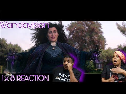 "Wandavision | REACTION - Season 1 Episode 8""Previously On.."""