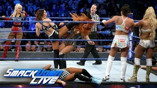 Video Ten-Woman Tag Team Match: SmackDown LIVE, June 12, 2018 MP3, 3GP, MP4, WEBM, AVI, FLV Juni 2018