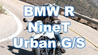 6. 2018 BMW R NineT Urban G/S First Ride Review