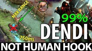Video Not HUMAN Hook with Dendi Pudge WTF Max Range 99% Dota 2 [MUST WATCH] MP3, 3GP, MP4, WEBM, AVI, FLV Januari 2019