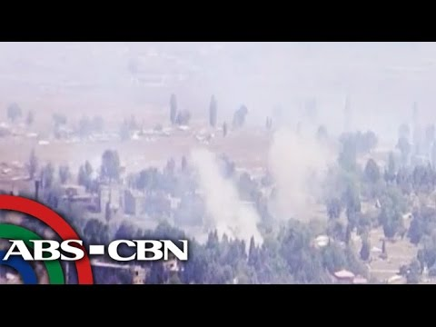 Heights - The tense standoff between the Filipino peacekeepers and Syrian rebels in Golan Heights still continue. Subscribe to the ABS-CBN News channel! - http://bit.l...
