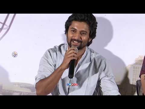 Nani Shocking Comments On Mega Family About Gang Leader Title Comments || jersey Pressmeet || MB