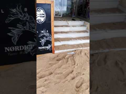 tsunami costa brava playa de aro temporal catastrofe girona baix emporda platja sagaro palamos paf
