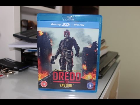 Dredd 3D Unboxing (Blu-ray + 3D Blu-ray)