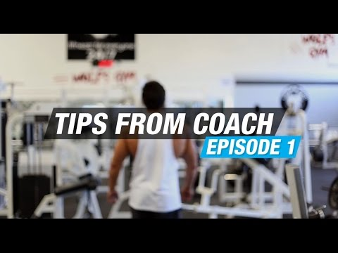 Back Training -Tips from Coach Tyrone Ep. 1 - Best Training Tips