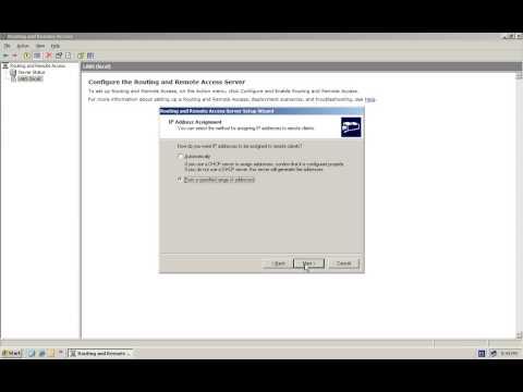 Tutorial: Configurar Windows 2003 Server como VPN Server