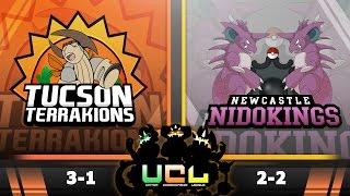 Pokémon ORAS LIVE Wi-Fi Battle [UCL S2W5] Tucson Terrakions vs Newcastle Nidokings by King Nappy