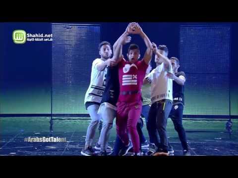Free Run Gaza يرقص ويطالب بالحرية في Arabs Got Talent