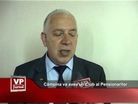 Câmpina va avea un Club al Pensionarilor