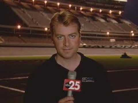 News Blooper: Reporter Can't Hear Sports Anchor