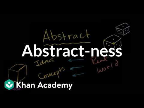 Abstract-ness