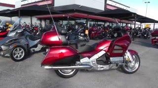 10. 100816 - 2013 Honda Gold Wing GL1800 - Used Motorcycle For Sale