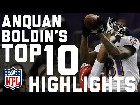 Anquan Boldin's Top 10 Career Highlights   NFL