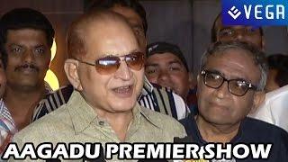 Aagadu Movie Premier Show - Mahesh Babu, Tamanna - Latest Telugu Movie 2014