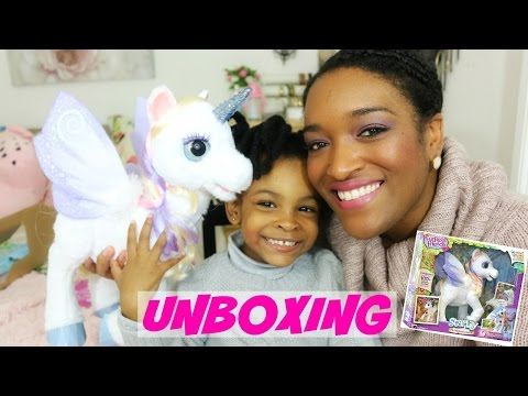 JOUET: STARLILY MA LICORNE MAGIQUE UNBOXING et TEST /Furreal Friends / HASBRO