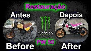 9. Restauração da Yamaha PW50