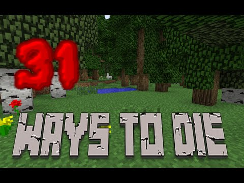 31 Ways to Die in Minecraft (видео)