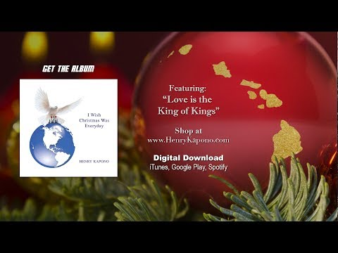 """Henry Kapono - """"Love is the King of Kings"""" [Wood Fire Video]"""