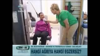 Op. Dr. Selim Muğrabi Ağrıları Önleyen Egzersizler Hakkında Bilgi Veriyor - DoktorumTV