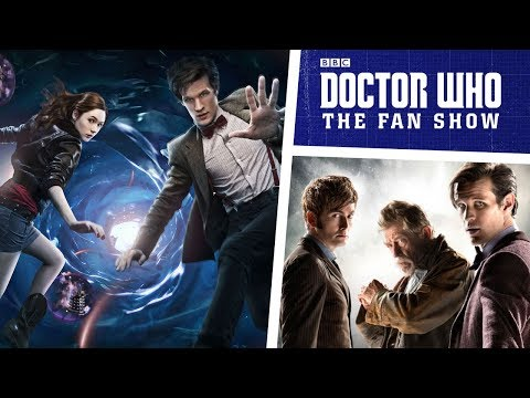 Steven Moffat on the Matt Smith era, the 50th Anniversary & MORE!