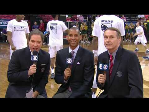 NCAA on CBS intro 2017 Mountain West Championship COL vs NEV (видео)