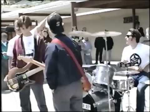 Green Day Playing Their H.S. Courtyard!