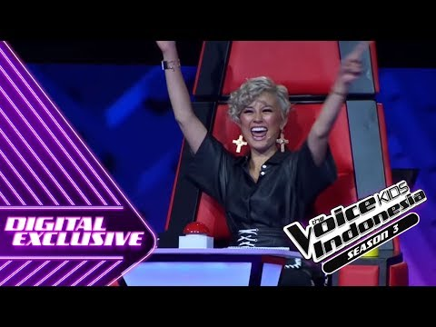 Begini Reaksi AgnezMo Untuk Moses | Coach Reaction #11 | The Voice Kids Indonesia Season 3 GTV 2018