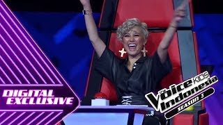 Video Begini Reaksi AgnezMo Untuk Moses | Coach Reaction #11 | The Voice Kids Indonesia Season 3 GTV 2018 MP3, 3GP, MP4, WEBM, AVI, FLV September 2018