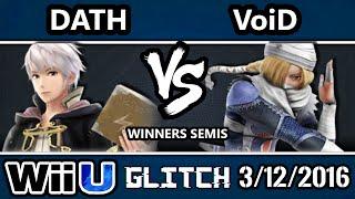 Glitch – Dath (Robin) Vs. 2GG   VoiD (Sheik) SSB4 Winners Semis – Smash Wii U – Smash 4