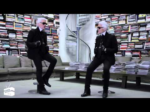 Video: Face to Face with Karl Lagerfeld (Full Version)