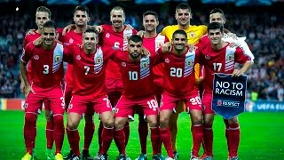 Playing in their first FIFA World Cup qualifiers in the Russia 2018 preliminaries, the Gibraltarians are happy to be in the world's presence. More FIFA Footb...