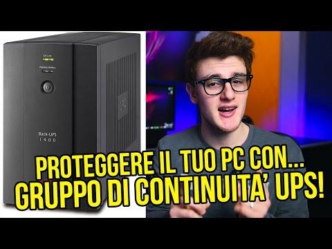 PROTEGGERE IL TUO PC CON... GRUPPO DI CONTINUITA' UPS !
