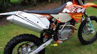 10. KTM 400 EXC Factory 2011