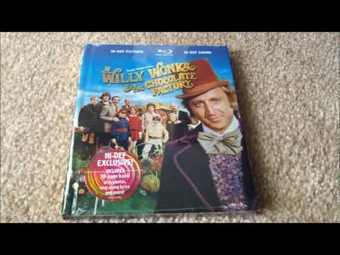 Willy Wonka & The Chocolate Factory Blu-Ray DigiBook Unboxing!