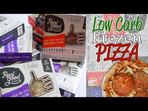 Real Good Pizza Review | Low Carb, Keto Frozen Pizza | Chicken Crust?!?!?