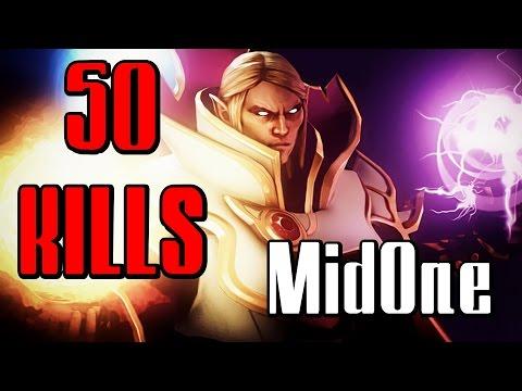 MidOne Invoker 50 KILLS Dota 2 Gameplay (Midone Dota 2, Miduan Dota 2)