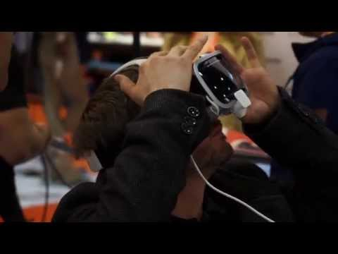 Virtual reality and augmented reality video from the Wearable Technology Show 2015