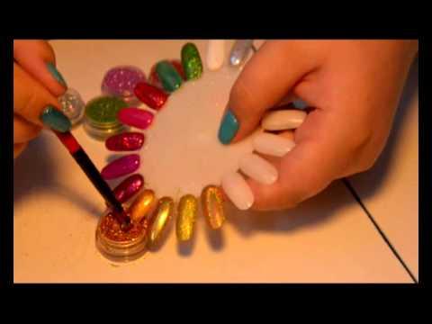 Как правильно сделать втирку на ногти