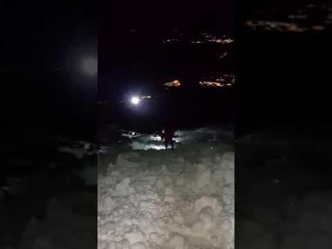 Valanga sul Gran Sasso: muore un escursionista FOTO/VIDEO