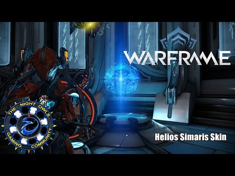 Warframe Fashion: The Helios Simaris Skin (Finally)