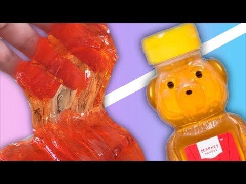 EDIBLE SLIME 💦 Testing EDIBLE NO GLUE  SLIME Recipes! (видео)