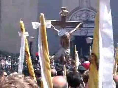Geraci Siculo - 3 Maggio 2006 - A nisciuta du Crucifissu