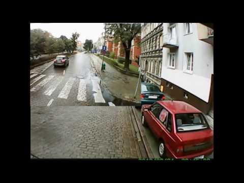 Gdyby nie kamera dostałby mandat! Policjant z Poloneza vs kierowca ciężarówki – Szczecin!