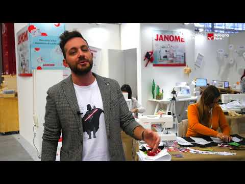 img Il Mondo Creativo 2018 | Alessio Sorrentino, Marketing Manager di Janome