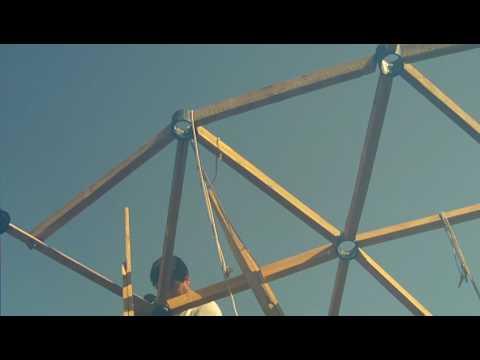 5 Construcción de una cupula geodesica o domo